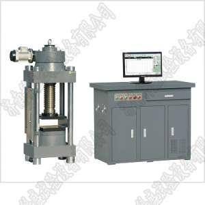 盘锦黑龙江300吨压力试验机 微机控制全自动抗压强度试验机YAW-3000